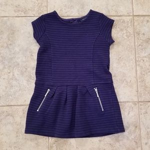 Nautica Great Condition Blue Stripe Toddler Dress